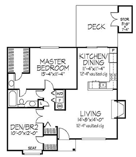 Guest Cottage Floor Plans by Guest Cottage Floor Plan Guest House Pinterest