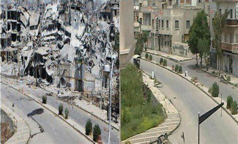 syria before and after syrian civil war destruction before and after markosun s