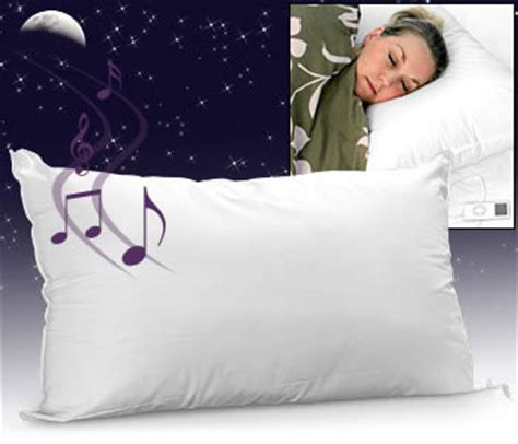 Soundasleep Pillow by Speaker Pillow