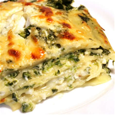 Spinach Lasagna With Cottage Cheese by Spinach And Cheese White Lasagna