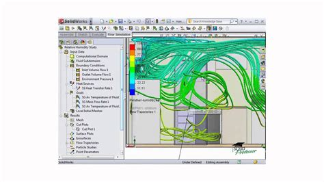 tutorial solidworks flow simulation 2011 solidworks flow simulation tutorial analyzing results