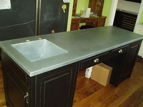 custom kitchens zinc countertops and sinks on pinterest 17 best images about counter tops on pinterest stainless