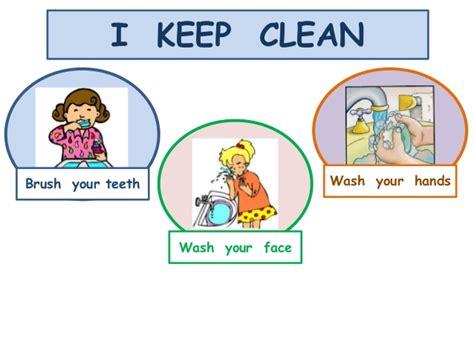 clean habits healthy habits