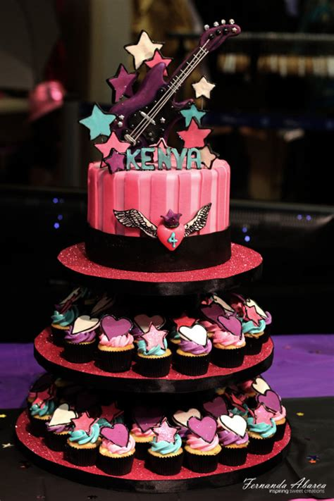 rock star birthday cake cakecentralcom