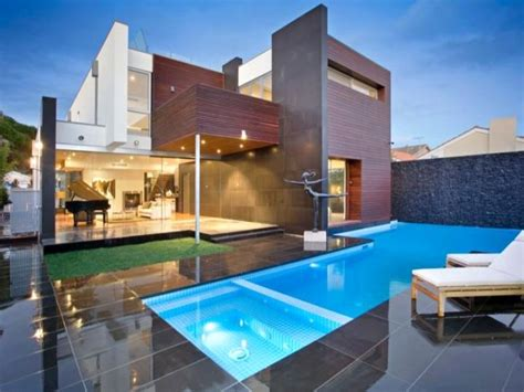 Ina Garten House Floor Plan 19 reposeful pool with spa designs for modern homes