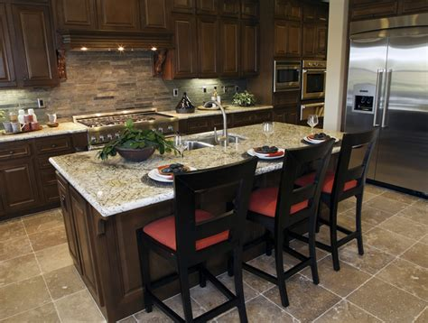 eat in kitchen island 79 custom kitchen island ideas beautiful designs