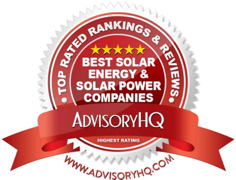 best solar power top 6 best solar energy solar power companies 2017