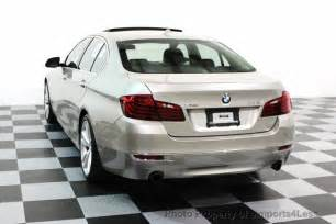 2014 used bmw 5 series certified 535i xdrive luxury line