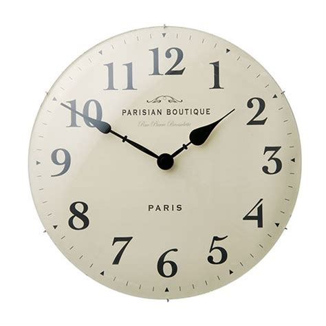 bedroom clock parisian wall clock by marks spencer bedroom shopping