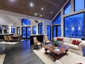 Open Kitchen Great Room Floor Plans Open Kitchen Dining And Living Room Dining Room Floor