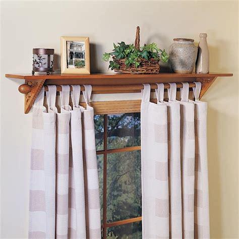 Curtain Shelf by Curtain Rod Shelf Furniture Ideas Deltaangelgroup