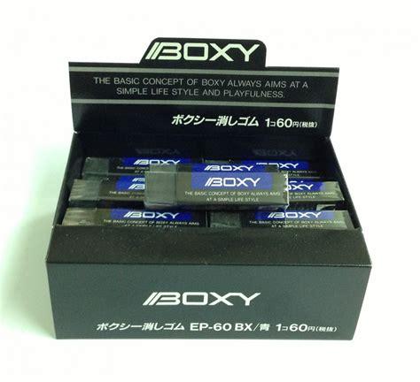 Uni Boxy uni boxy ep60bx 黑色擦膠 wah chit