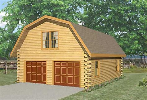 live in garage plans live in garage log home plan by lincoln logs international