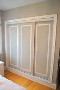 Sliding Closet Doors Diy Two Tone Closet Doors The Diy Adventures