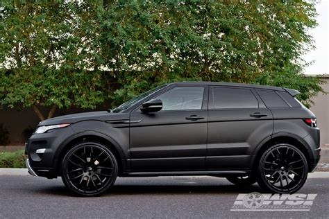 land rover evoque black giovanna kilis matte black 22 quot on range rover evoque