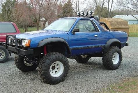 brat car lifted lifted subaru brat road subaru 4x4