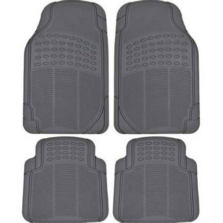 ip truck mat bdk heavy duty 4 front and rear rubber car floor
