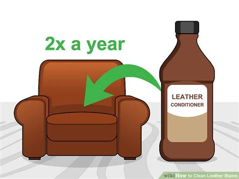 Staining A Leather by 5 Ways To Clean Leather Stains Wikihow