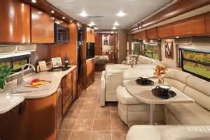 Motor Home Interiors Thor Motor Coach Serrano 34m One Entertaining Rv