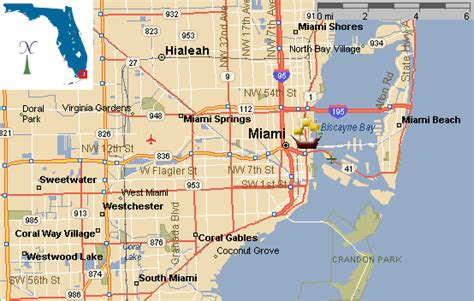 map of miami florida image gallery miami map