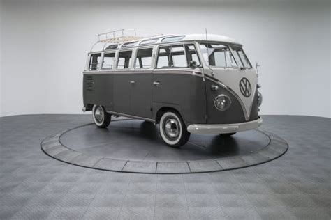 volkswagen wagon 1960 1960 volkswagen kombi 23 window bus 63550 miles mouse grey