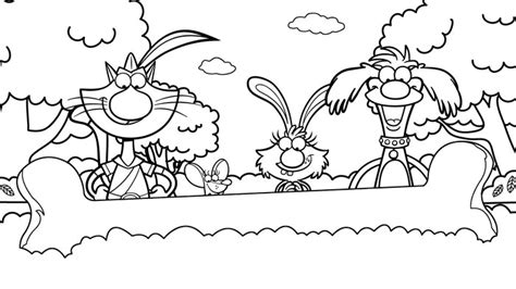 nature cat coloring page nature cat colorin pictures to pin on pinterest pinsdaddy