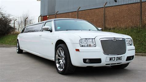 volvo car hire volvo car hire usa white stretched chrysler 300c limousine