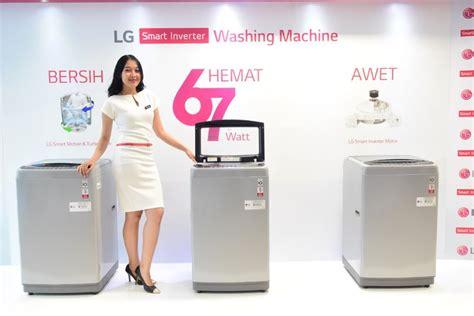 Mesin Cuci Lg Smart Inverter makin ekspansif dengan inverter lg luncurkan lini mesin