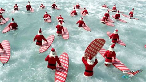 stin up fathers day cards in australia australian surfing santas