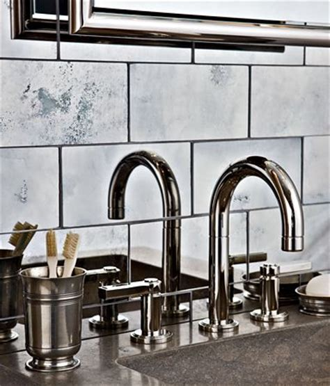 antique mirror tiles for backsplash kitchen inspirations