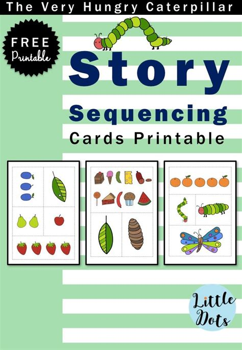 printable sequencing games 36 best images about the very hungry caterpillar theme