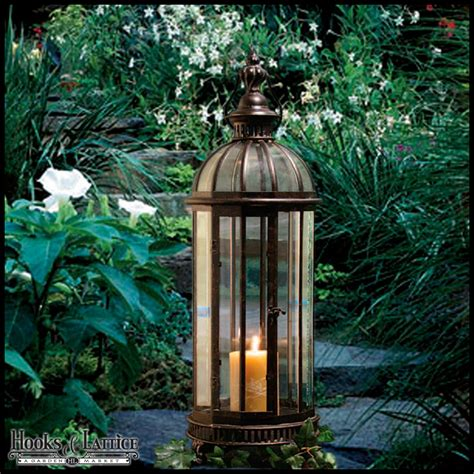 Garden Lantern by Garden Lanterns Metal Lanterns Outdoor Candle Lanterns
