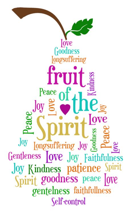 fruits of the spirit fruit of the spirit