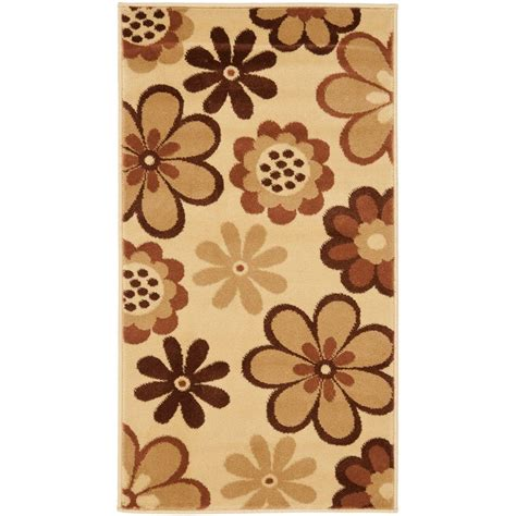 porcello rug safavieh porcello ivory green 2 ft 7 in x 5 ft area rug prl3723a 3 the home depot
