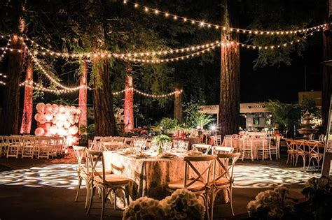 wedding receptions ta bay area 12 redwood wedding venues in the bay area tip top planning