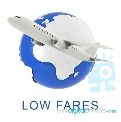 low fares shows discount airfare 3d rendering stock image royalty free image id 100460366