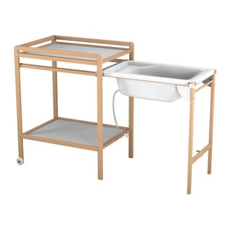 table a langer avec baignoire naturelle atelier t4 momentbebe