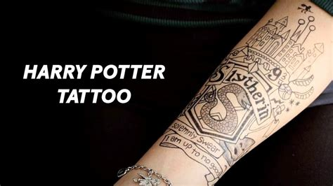 slytherin tattoo slytherin timelapse