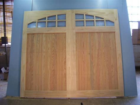 Wood Garage Door Builder Clingerman Builders Custom Wood Garage Doors Photo