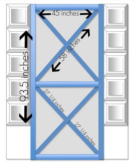 Do It Yourself Barn Door Headboard Home Stories A To Z Barn Door Sizes