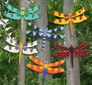 Giant dragonfly wood outdoor yard art lawn ornament by chardoman 22