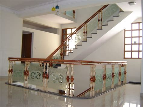 Modern Glass Stairs Design Modern Staircase Of Wood And Glass Railings