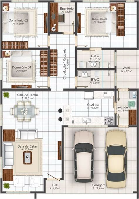 plano de casa primer piso plano de casa de  piso planos