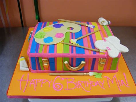 paint with a twist birthday cake birthday md dc va northern virginia maryland