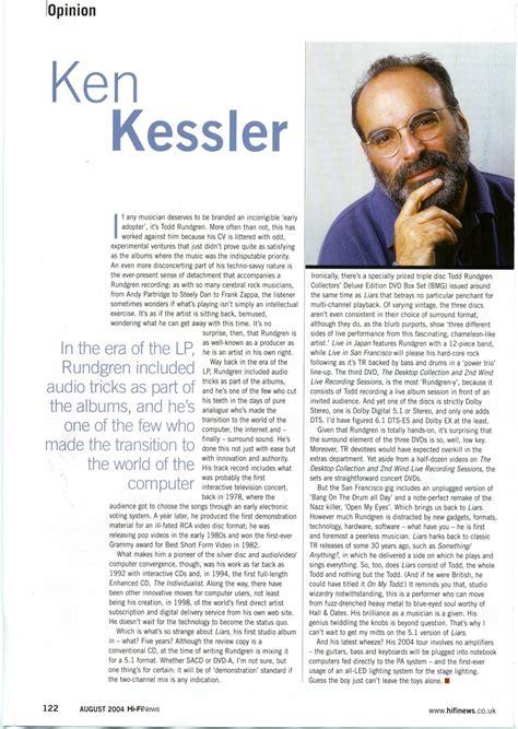 news magazine the todd rundgren connection