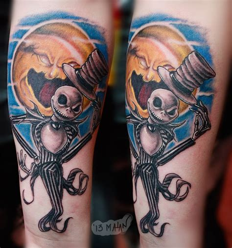 jack skellington and sally tattoos image result for and sally pumpkin tattoos