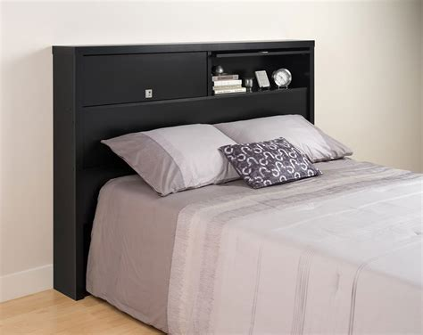prepac headboard prepac series 9 2 door storage headboard black bhfx 0502