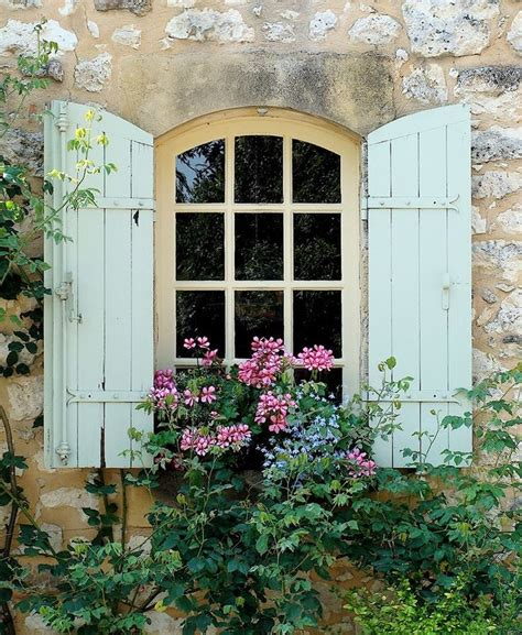 french country windows photo courtesy of french country garden pretty windows
