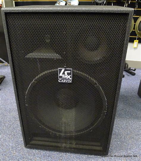 3 way ls carvin ls 1503 800w 15 quot 3 way speaker pair 2x free reverb