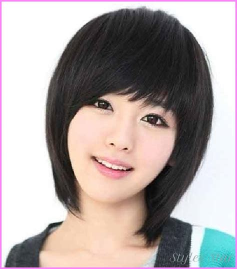 hairstyle for round face chinese short haircut round face asian stylesstar com